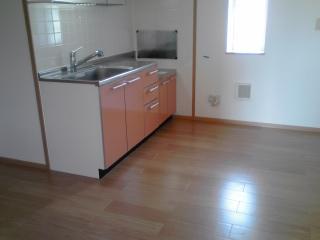 リリー・ヴァリー 02010号室のキッチン