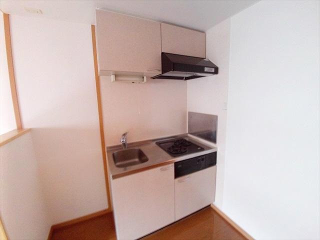 プロムナード 01020号室のキッチン