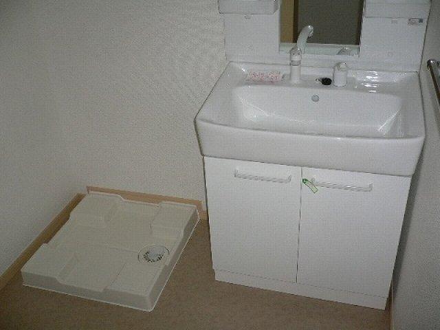 プラティ-クⅡ 01020号室の洗面所