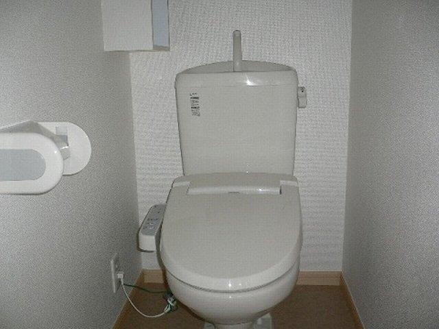 プラティ-クⅡ 01020号室のトイレ