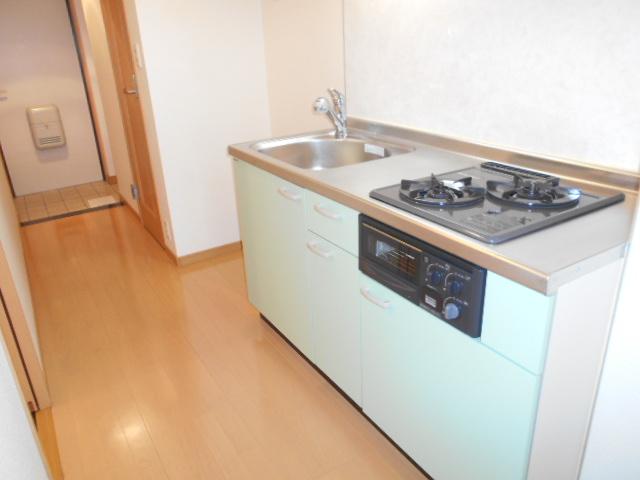 プレ・アビタシオン春日部Ⅱ 02040号室のキッチン