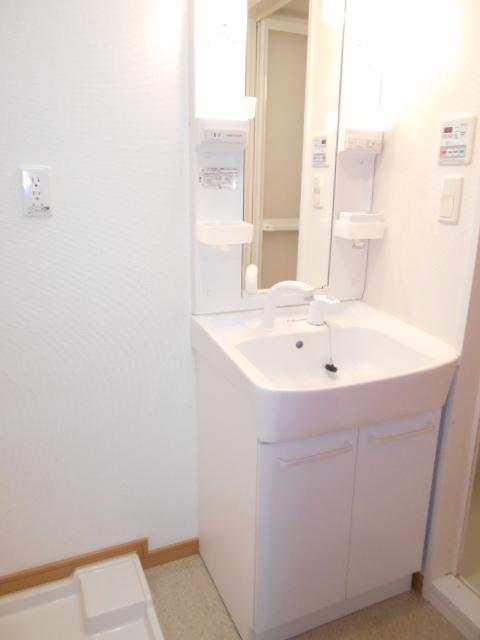 プレ・アビタシオン春日部Ⅱ 02040号室の洗面所