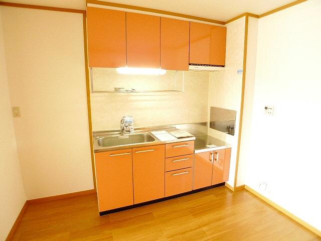 シャルマン弐番館 01020号室のキッチン