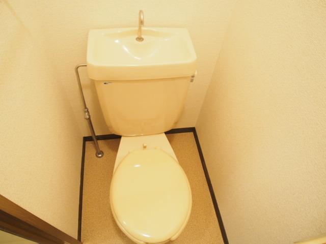 ルミエールハウス 02010号室のトイレ