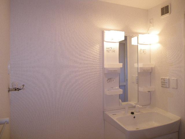 グランデ・ヒルⅣ 02020号室の洗面所