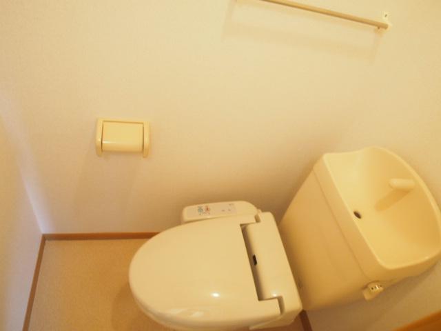 メゾン・ラフォーレB 02020号室のトイレ