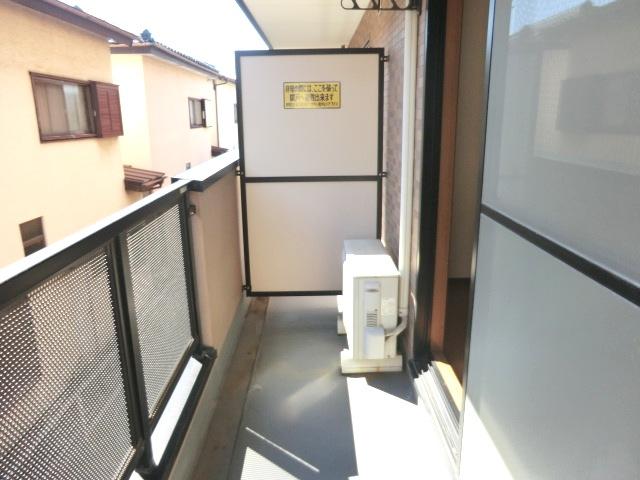 エスポワールⅡ 02010号室のバルコニー