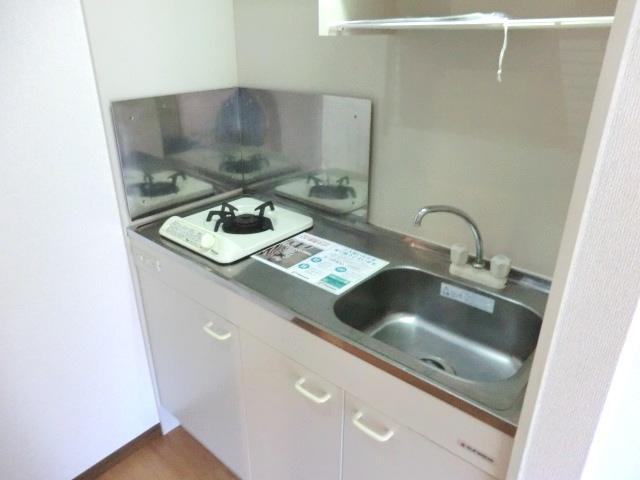 エスポワールⅡ 02010号室のキッチン
