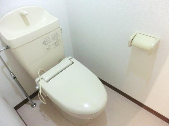 エスポワールⅡ 02010号室のトイレ