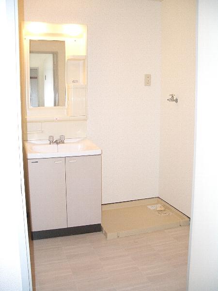 サンフローラル 02050号室の洗面所
