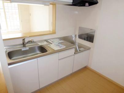 ブレッザ 02020号室のキッチン
