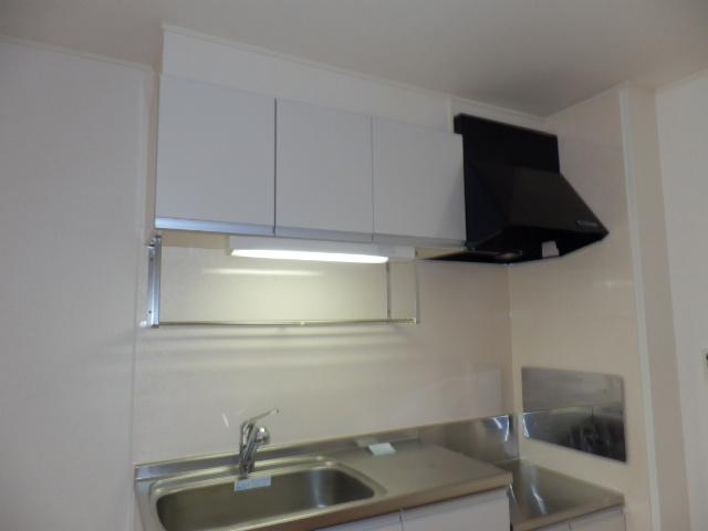 穂積Ⅱ 01020号室のキッチン