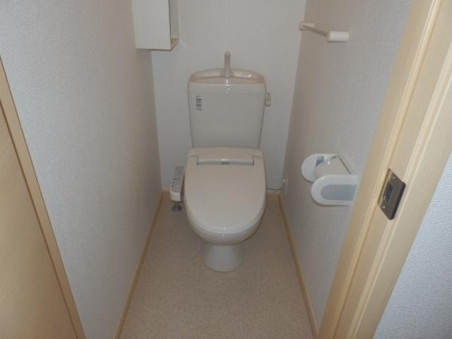 穂積Ⅱ 01020号室のトイレ