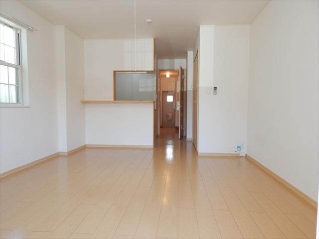 メルヴェーユパルファンC 01060号室のリビング