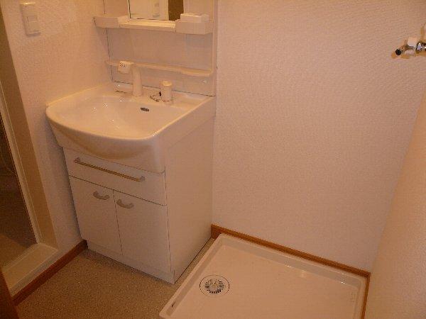 JOY CUBE 01020号室の洗面所