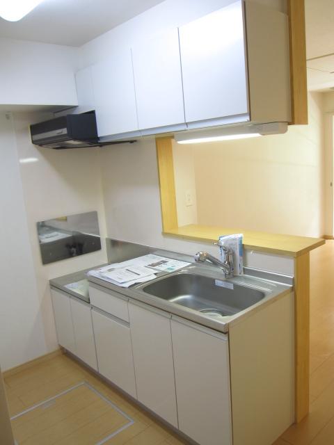 サンライズグリーンパーク 01030号室のキッチン