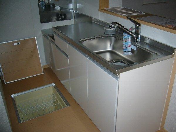 アスカB 01040号室のキッチン