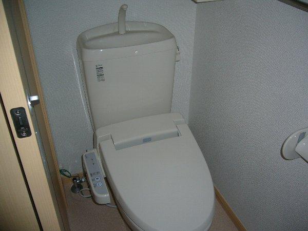 アスカB 01040号室のトイレ