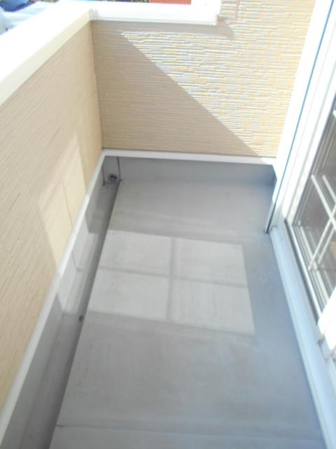 ケーハウスA 01010号室のバルコニー