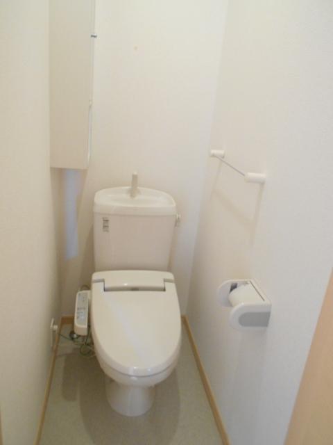 ケーハウスA 01010号室のトイレ