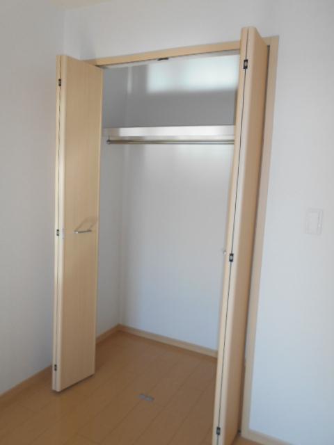 ケーハウスA 01010号室の収納