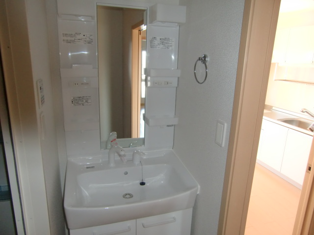 フォルトゥーナ・デーア 02010号室の洗面所