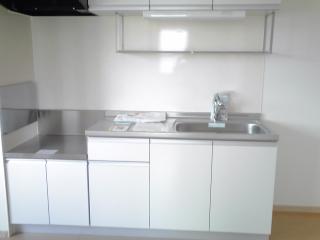 ヒルサイドハウスⅠ 01020号室のキッチン