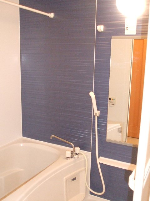 ヒルサイドハウスⅠ 01020号室の風呂