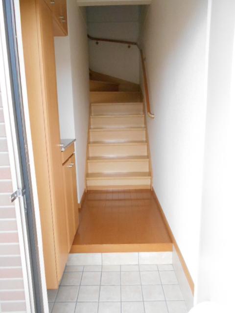 プリムローズⅢ 02010号室の玄関