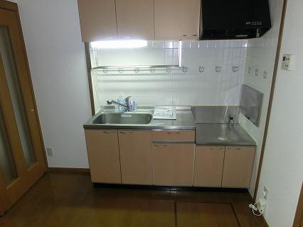 レジーナ弐番館 01020号室のキッチン