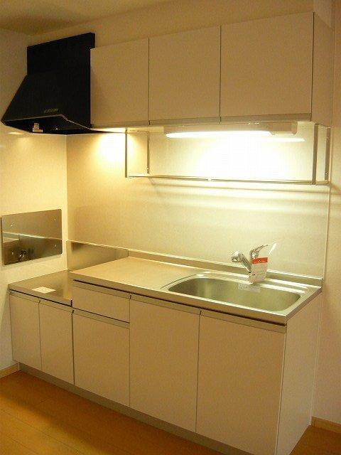 アロッジオ 01010号室のキッチン