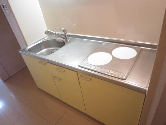 ソレイユ 01030号室のキッチン