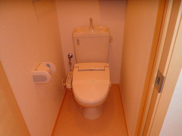 ベル・フルール 02010号室のトイレ