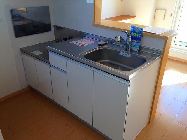 ストロベリーⅡ 02020号室のキッチン