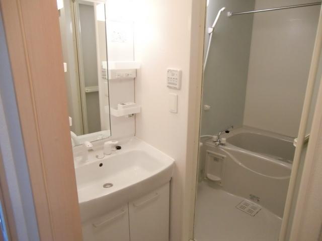 ヴィラージュ・ヒルズB 01040号室の洗面所