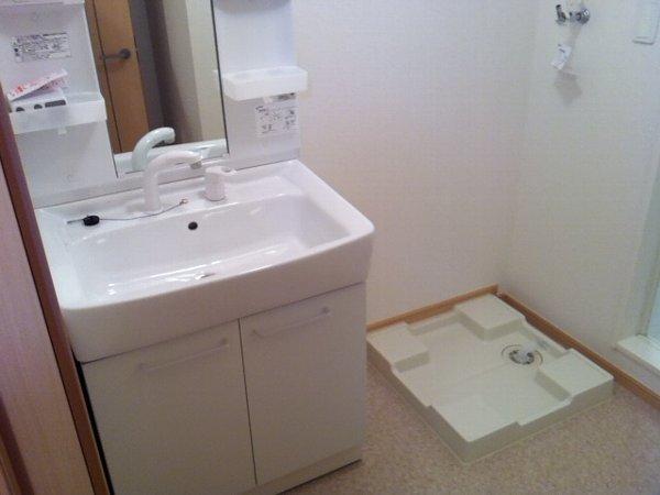 プリムローズⅡ 01030号室の洗面所