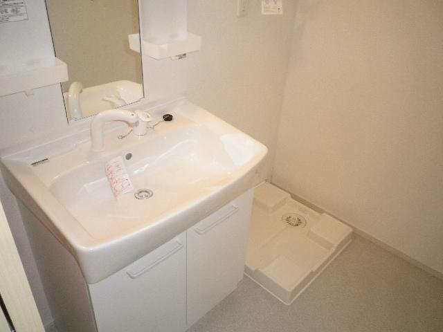 プラムハウス3 01020号室の洗面所