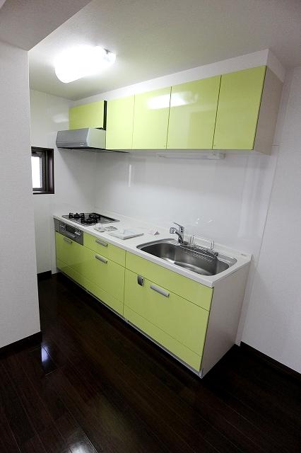 グリーン ガーデン 01010号室のキッチン
