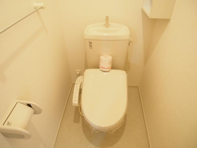ホワイトヒルズドリーバーデンⅢ 03040号室のトイレ