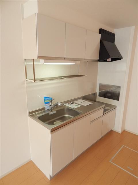 プルメリア 01040号室のキッチン