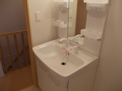 ライフアクシス 02030号室の洗面所
