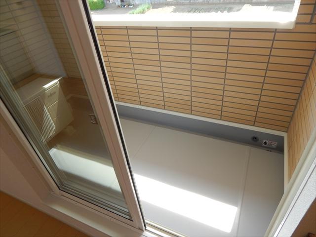 セレーノ・カーサ 02010号室のバルコニー