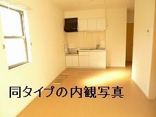 メゾン・アニメート 01010号室のリビング