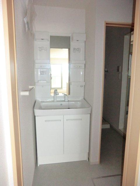 ネオシスメゾンTA 02010号室の洗面所