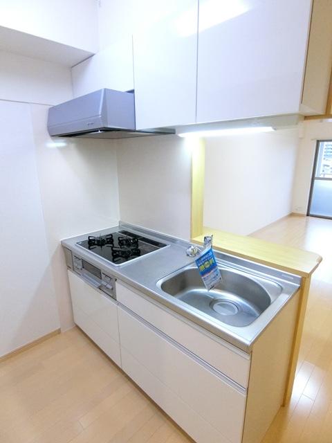 プレステージ空港東 06070号室のキッチン