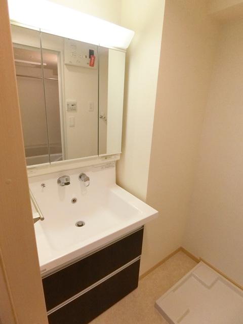 プレステージ空港東 06070号室の洗面所