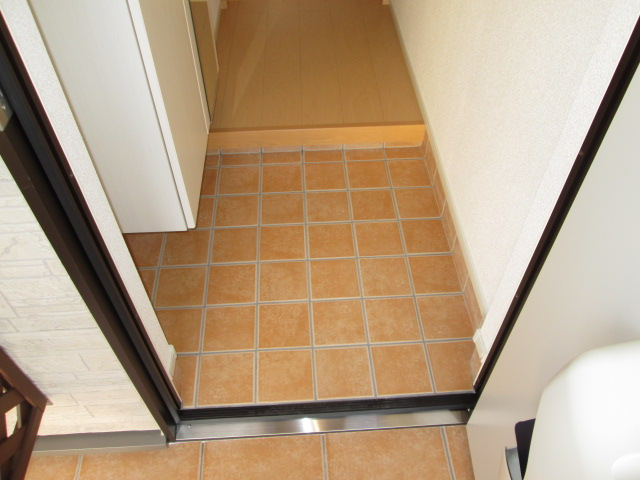 グランツY.S Ⅱ 02010号室の玄関