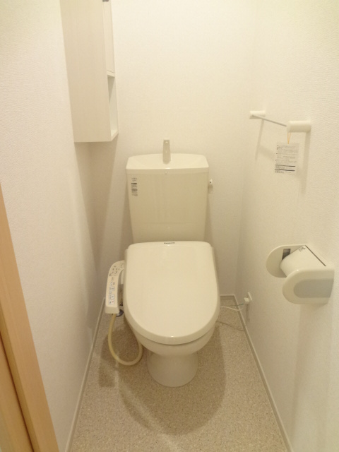 リリー・ヴァリーⅧ 02010号室のトイレ