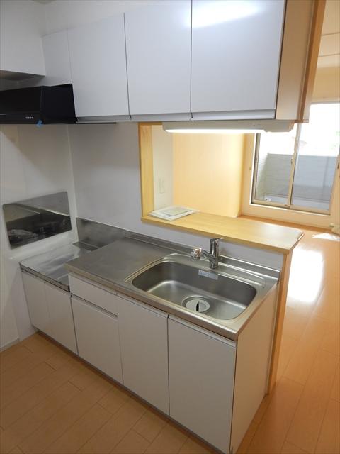 クレストガーデンⅣ 02030号室のキッチン