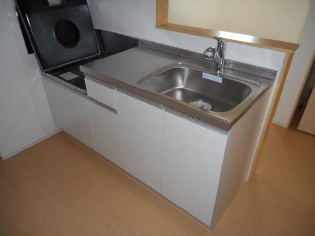 メゾン ベル 02030号室のキッチン